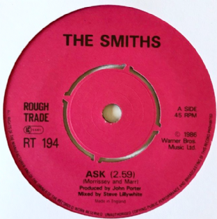 "Smiths (The) - Ask (7"") (G/NM)"